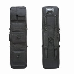 Rifle backpack bag online shopping - 85cm cm cm Dual Rifle Square Carry Bag Nylon Hunting Military Gun Bag Tactical Shoulder Strap Gun Protection Case Backpack
