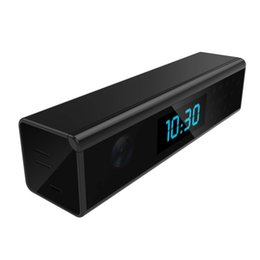 $enCountryForm.capitalKeyWord NZ - New Arrival WiFi Camera Clock HD 1080P Nanny Cam P2P Wireless Night Vision Cam Motion Detection Security DVR iOS Android APP Remote Control