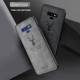 Cellphone Cases Designs Australia - Luxury Phone Case for iPhone 6 7 8 Plus X XS XS Max XR Cartoon Deer Cloth Design Cellphone Cover for Samsung S10