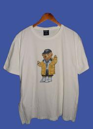 White tshirt polo online shopping - Vintage RARE Polo Lauren Sport Bear T Shirt SIZE S XL REPRINTFunny Unisex Casual Tshirt top