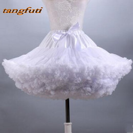 $enCountryForm.capitalKeyWord Australia - White Black Blue Petticoats Purple Yellow Pink Jupon Rockabilly jupon en tulle Short Underskirts jupon robe de