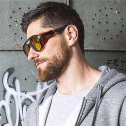 Wholesale New Round Glasses Steampunk Personality Sunglasses Cool Rivet Men and Women Sunglasses Eyeglass Frame Five Colors Fashion