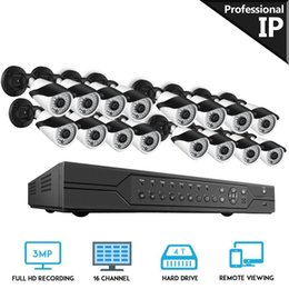 $enCountryForm.capitalKeyWord Australia - BESDER POE 16CH CCTV System 3MP 1080P HD NVR 16PCS IR Outdoor Waterproof P2P Home Security Camera System Surveillance Kits