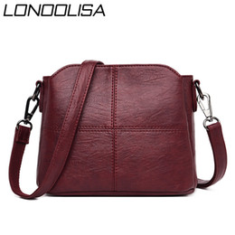 soft leather bags for women Australia - New Ladies Shoulder Crossbody Hand Bags for Women 2020 Soft Leather Handbags Women Bags Bucket Sac A Main Bolsa
