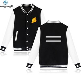Women's Clothing Kpop Bigbang Jacket Coat New Winter 2017 Bigbang Gd G-dragon Badge Baseball Uniform Casual Hooded Jacket Korean Bigbang Hoodies