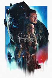 Discount game thrones wall - Game Of Thrones TV Series Decor wall Art Silk Poster 24x36inch 24x43inch