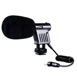 Microphone For Dslr Camera Australia - Mini Microphone Interview Broadcast Directional Condenser For DSLR Cameras Camcorder Recording ND998