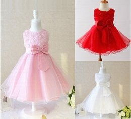 Images Applique Shirts Girl Australia - Charming Flower Girl Dress Princess Pageant Applique Tulle Children Formal Prom Kids Party Special Occasions Dress Baby Dresses Tutu Gown