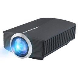 YG500 проектор светодиодный HD домашнего мини проектор HD проектор 1080p поддерживается, HDMI,кабель VGA,USB-порт,AV,SD для домашнего кинотеатра