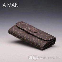 $enCountryForm.capitalKeyWord Australia - New Men's suits classic brand wallets luxury man purse gift box free shipping