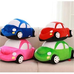 hot beds Australia - 20170632 Hot Sale Car Plush Toys Children's Bed Pillow Creative Birthday Gifts For Boys And Girls