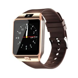 Smart Watches For Windows Australia - DZ09 Smart Watch Bluetooth Smart Watches Support SIM TF Card Wrist Watch With Camera Anti-lost For iPhone Android Free DHL DZ09-1