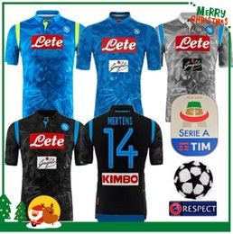 3280d2852 2018 2019 Serie A Naples New Napoli home soccer jerseys Napoli blue  football Jerseys Shirt for men 18 19 HAMSIK L.INSIGNE PLAYER Shirt