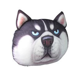 $enCountryForm.capitalKeyWord Australia - The Latest Cute 3D Printing Animal Face Car Headrest Pillowcase Neck Automatic Travel Rest Supplies