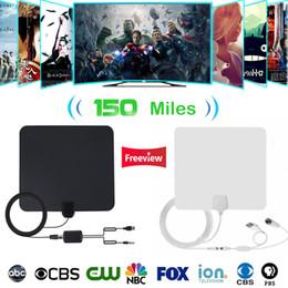 Vente en gros Antena TV d'intérieur Antenne TV numérique Antenne 4K HD TV VHF / UHF DVB-T / T2 ATSC
