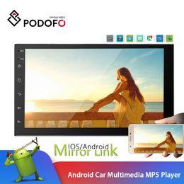 $enCountryForm.capitalKeyWord Australia - Podofo 2 Din Android Car Radio 7'' Car Multimedia Player GPS Bluetooth WIFI Dual USB Mirror Link 2din Cassette Recorder Stereo