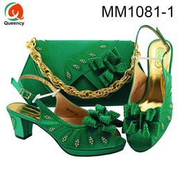 matching shoes clutches Canada - Dgrain High Quality African Clutch Shoes And Ladies Bags Hot Sale Women Italian Shoes And Matching Bags