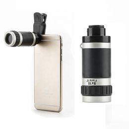 Mini pocket Monocular online shopping - 8x18X Zoom Optical Monocular Mini Smart Phone Telescope Camera Len Pocket Monocular