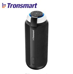 tronsmart 2020 - Tronsmart Element T6 Wireless Bluetooth Speaker Column Bluetooth Portable Speaker Subwoofer 25W with 360 Stereo Sound Sp