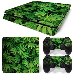 $enCountryForm.capitalKeyWord UK - Fanstore Skins Sticker Leaves Vinyl Decal Protective Wrap for Playstation PS4 Slim Console and 2 Remote Controller Cool Design