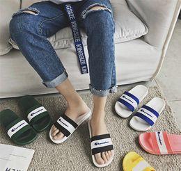 $enCountryForm.capitalKeyWord Australia - Champions Designer Slippers Mens Women Sandals Brand Soft Rubber Sole Sandal Luxury Flip Flops Summer Fashion Outdoor Beach Bath Shoes C7301