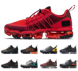 Lighting bounce online shopping - 2019 Run Utility Men Women Running Shoes Chinese New Year Triple Black Urban Bounce BURGUNDY CRUSH Mens Trainer Breathable Sports Sneakers