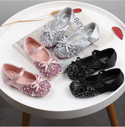 boutique girl shoes Australia - baby Girls 1 to 6 years fall spring sequined shoes, kids autumn children boutique fashion leather wear, R1AS503-63