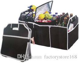 $enCountryForm.capitalKeyWord Australia - 2017 Promotional cheap lightweight non-woven fabrics auto trunk organizer Car folding box trunk storage bag
