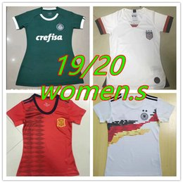 uniform world 2019 - New 2019 20 ladies football uniform 2019 2020 women's football home jersey Women's World Cup football jersey c