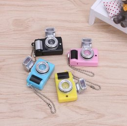 $enCountryForm.capitalKeyWord Australia - Manufacturers of ultra-low-cost wholesale creative camera toys LED key chain with sound LED flashlight key chain interesting new toys