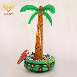 $enCountryForm.capitalKeyWord Australia - Wholesale- Inflatable Palm Tree With Parrot Cooler Ice Bucket Christmas Decoration Halloween Party Supply Coconut Tree Toys Hot Selling