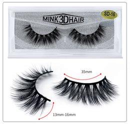 $enCountryForm.capitalKeyWord Australia - 2019 new 3D Faux Mink Eyelashes Mink Eyelash Messy Extension 3D false eyelashes a pair of female dense