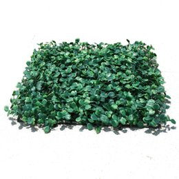 $enCountryForm.capitalKeyWord Australia - Wholesale Artificial Grass plastic boxwood mat topiary tree Milan Grass for garden,home ,Store,wedding decoration Artificial Plants