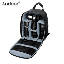 Wholesale Camera Bag Waterproof DSLR Backpack Inch Size for DSLR Cameras Mirrorless Cameras Lens Flashes Tripod Other Accessories T191025