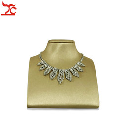 $enCountryForm.capitalKeyWord Australia - Jewelry Display Necklace Showcase Pendant Holder Jewelry Stand for Counter Window Display