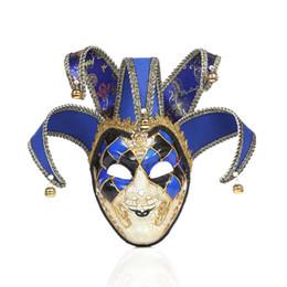 $enCountryForm.capitalKeyWord Australia - Halloween Decorative Mask The Night Evil Clown Terror Dress up Facepiece Festival Party Evil Smile Mask
