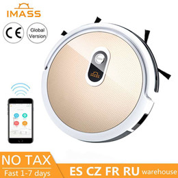 smartphone robot UK - IMSS Smartphone AAP Control Sweeping Robot Vacuum Cleaner Home Automatic Machine Mopping One Vacuum Cleaner Automatically Charge