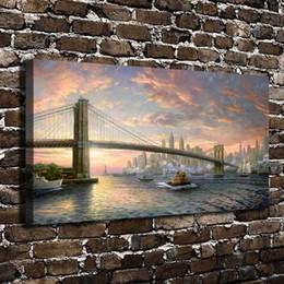 $enCountryForm.capitalKeyWord Australia - The Spirit of New York Scenery,1 Pieces Canvas Prints Wall Art Oil Painting Home Decor (Unframed Framed)