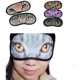 China 2000pcs Cartoon meow star eyeshade 3D Travel sleep eye mask cute animal cat sleep patch rest Eye Mask Shade Nap Cover Blindfold Shade suppliers