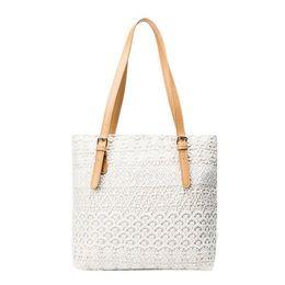 Ladies Lace Handbags Australia - 2019 Fall Fashion New Handbags High Quality Canvas Womne Bag Sweet Lady Lace Lady Tote Bag Temperament Portable Shoulder Bag
