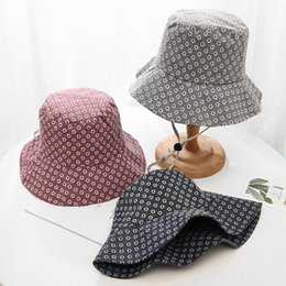 Little Hats Australia - Cotton little flowers Bucket Hat Fisherman Hat outdoor travel hat Sun Cap Hats for Women 20