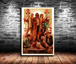 Big Wall Prints Australia - 1 Pieces Canvas Prints Wall Art Oil Painting Home Decor The Big Lebowski (Unframed Framed) 24x36.