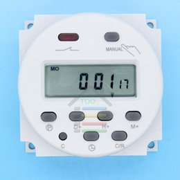 Wholesale Hot Sale New OP DC V Digital LCD Power Programmable Timer Best Time switch Relay A