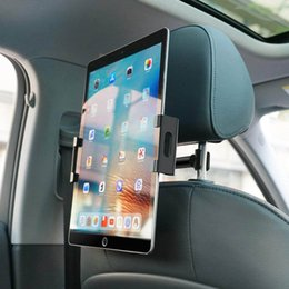 Tablet Cradle Holder Car NZ - Car Tablet Headrest Mount, Tablet Holder : Back seat Stand Cradle Compatible with 4.7~13 inch Like iPad, Air Mini 2, E-Reader, Smartphones