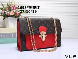 Ship Chains For Sale Australia - 2018 free shipping Hot Sale Fashion Vintage Handbags Women bags Design Handbags Wallets for Women Leather Chain Bag Crossbody and Shoulder