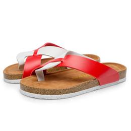 $enCountryForm.capitalKeyWord NZ - mixed colors slaps women Fashion Flip-Flops Cork Flats Sandals New arrival Beach Anti-Slip Shoe Post Slippers chaussures
