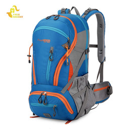 Discount 45l backpack - Hot Sale 45L Unisex Camping Hiking Backpack Waterproof Travel Backpack Professional Outdoor mountaineering Bag Fashion S