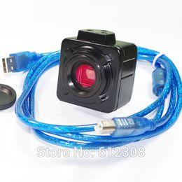 "$enCountryForm.capitalKeyWord Australia - Freeshipping 5MP 30F S HD 1 2.5"" USB CMOS Digital Industry C-mount Video Microscope Camera Magnifier for PCB Electronic Repair Tool USB500"