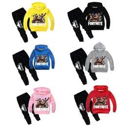 2t boys online shopping - Fortnite Hoodies Children s Clothing Sets Boys Long Sleeve T Shirt Pants Sport Suits Fortnite Girls Kids Clothes Sweatshirt Tracksuit