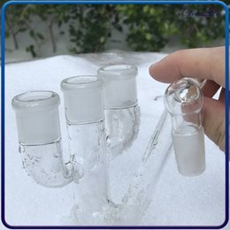 Discount male female oil rig ash catcher - Glass ashcatcher for Glass water Pipes Reclaim Ash Catcher 18mm male to 18mm female joint adapter glass adapter 18mm ash